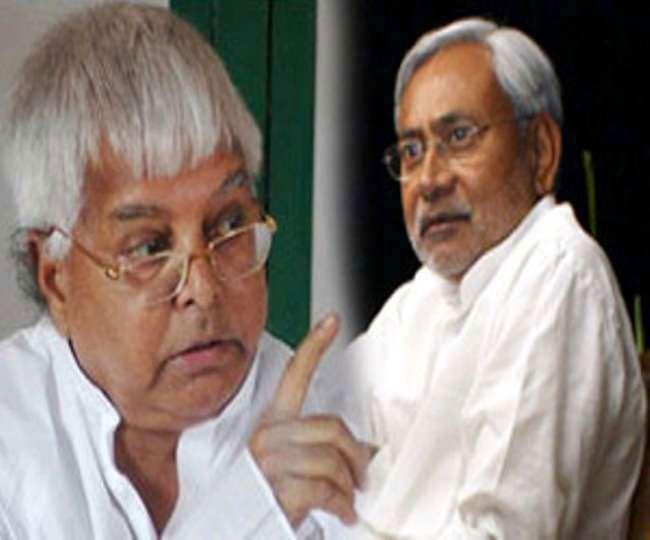RJD supremo lalu prasad yadav tweets and comments on CM nitish ...