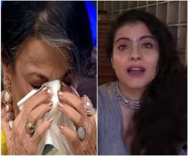 Super Dancer Chapter 4: Veteran actress Tanuja gets teary eyes after watching daughter Kajol's special video message
