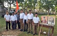 आरएसएस ने मनाया स्थापना दिवस