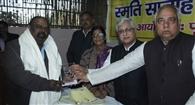 संजय अमन डॉक्टर राजेंद्र प्रसाद स्मृति पुरस्कार से सम्मानित