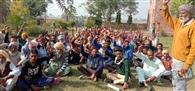 शामलात जमीन को बचाने के खिलाफ मजदूरों ने किनाली रैली