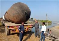 पीपा पुल निर्माण के लिए एक करोड़ छह लाख निर्गत