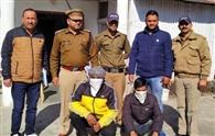 सवा किलो चरस के साथ दो आरोपित गिरफ्तार