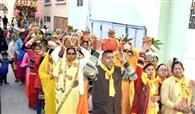 नर नारायण यज्ञ समारोह का शुभारंभ