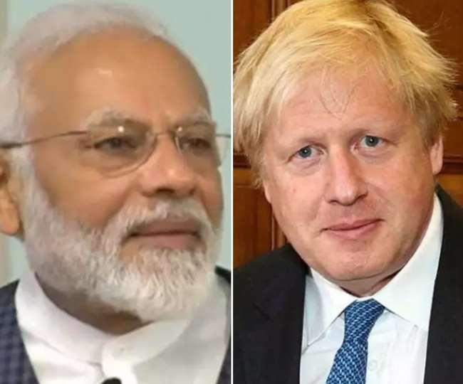 लंदन के मंदिर में बोले जॉनसन, पीएम मोदी के साथ बनाएंगे नया भारत