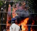 मौत का वो मंजर: शहीद नगर स्थित अवैध कारखाने में लगी थी आग, 13 लोगों की गई थी जान