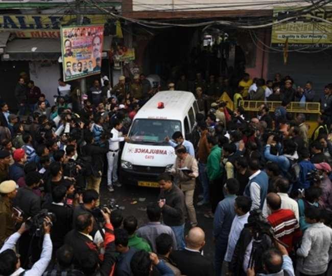 Image result for DelhiFire, भीषण हादसे