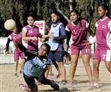 तृतीय खेल महाकुंभ में एसजीआरआर नेहरूग्राम ने जीता हैंडबॉल प्रतियोगिता में दोहरा खिताब