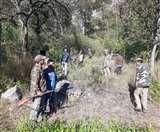 नरभक्षी गुलदार को लगी गोली, जंगल की ओर भागा; तलाश जारी