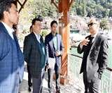 मुख्या सचिव ने कहा कि, नैनीताल का विकास यहां की प्रकृति और संस्कृति अनुरूप हो nainital news