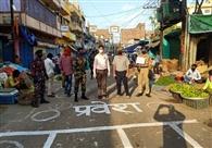 मीठापुर सब्जीमंडी में प्रवेश-निकास को अलग-अलग रास्ते