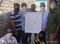 मान सिंहपुर के लोगों ने सीएम राहत कोष में दी सहायता राशि