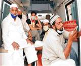 क्वारंटाइन केंद्रों में जमातियों को लेकर भटकती रहीं एंबुलेंस Meerut News