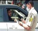 Curfew में गाड़ी लेकर सड़क पर निकले क्रिकेटर ऋषि धवन का पुलिस ने किया चालान, मौके पर वसूला जुर्माना