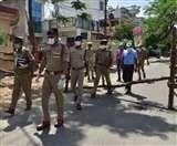 Lockdown in Lucknow : सील इलाकों को सेनिटाइज करने का काम शुरू, पुलिस आयुक्त ने लिया जायजा