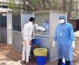 सरकारी स्कूलों में खुले कोविड-19 जांच केंद्रों को तुरंत बंद करने की मांग।