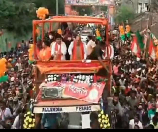 गृहमंत्री अमित शाह का दावा- पश्चिम बंगाल में जीत पक्की