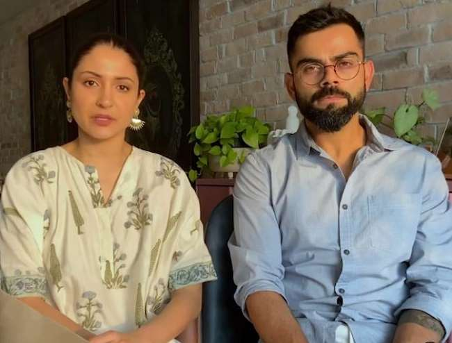 Anushka Sharma and Virat Kohli thank everyone for contribution and raising Rs 5 crore for COVID-19 relief work