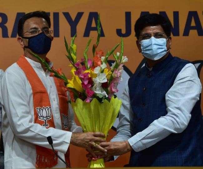 जितिन प्रसाद भाजपा में शामिल हो गए हैं