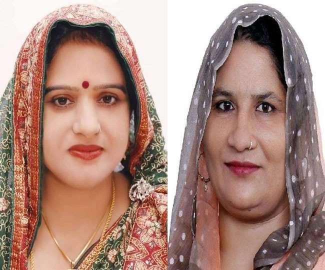 भाजपा प्रत्याशी ममता त्यागी और सपा उम्मीदवार नसीम बेगम चौधरी की फाइल फोटोः जागरण
