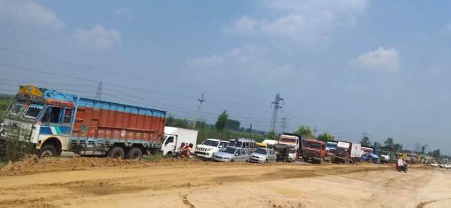 राष्ट्रीय राजमार्ग निर्माण ने थामी वाहनों की रफ्तार