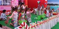 प्रतियोगिता में बच्चों ने बिखेरे कला के रंग