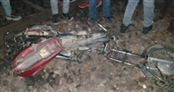 राजधानी एक्सप्रेस की चपेट में आकर बाइक सवार की मौत
