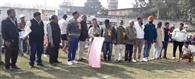 सौ मीटर दौड़ के जगदीप सिंह बने विजेता