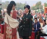 आठ वीरांगनाओं को सेना ने किया सम्मानित, शहीदों के शौर्य व पराक्रम को किया याद