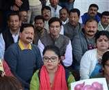 महंगाई को लेकर कांग्रेस ने केंद्र सरकार पर बोला हल्ला