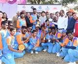 क्रिकेट सीरीज फॉर द ब्लाइंड में सुपर ओवर में भारत ने नेपाल को हराया
