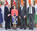 भारत और आस्ट्रेलिया के बीच टू प्लस टू वार्ता, गहरे कूटनीतिक व रणनीतिक संबंधों पर हुई चर्चा