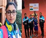 South asian games : पाकिस्तान की बॉक्सर को हरा हिसार की पिंकी ने जीता सिल्वर मेडल