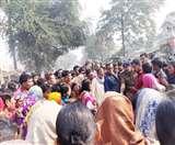 समस्तीपुर में मारपीट में घायल युवक की मौत के बाद हंगामा, सड़क जाम