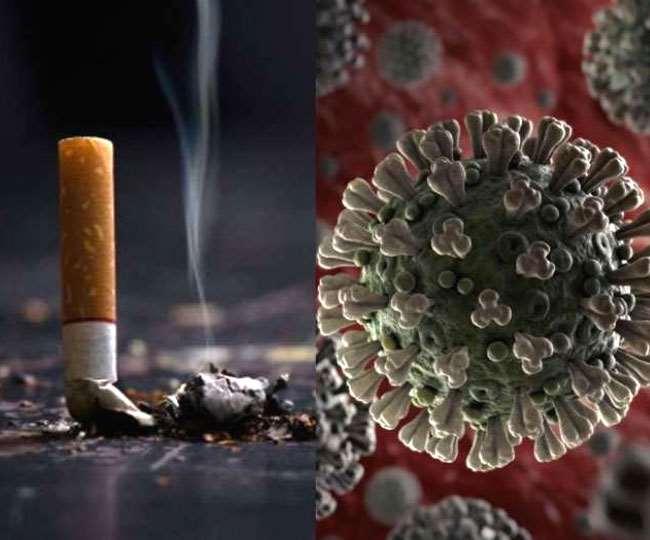 ध्रूमपान से कोरोना संक्रमित होने का खतरा ज्यादा। (फोटो: दैनिक जागरण)