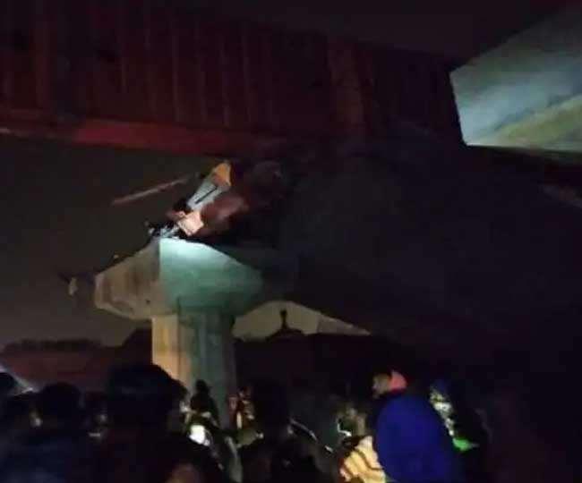 चल रहा था पुल निर्माण कार्य, तीन भारतीयों की मौत