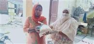 गर्भवती महिलाओं को उनके घरों तक पहुंचाई गई खुराक : डीसी