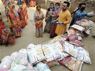 डिप्टी मेयर ने 78 सौ गरीबों को उपलब्ध कराया राशन