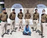Curfew के बीच शाहपुर में पांच किलोग्राम भुक्की और सवा पांच लाख नकदी समेत व्यक्ति गिरफ्तार