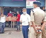 Uttarakhand Lockdown: लॉकडाउन उल्लंघन देख डीआइजी ने सीओ व कोतवाल की लगाई क्लास, बोले दुकान से पैसे बांध रखे हैं क्या