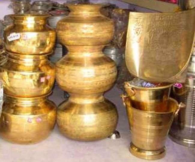 Brass Rate, Jharkhand Samachar रांची के बाजार में पीतल का बर्तन कोलकाता, अलीगढ़, मेरठ, बिहार के आरा से आता है।