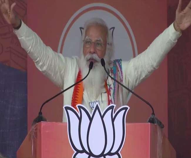 कृष्णानगर के जनसभा में प्रधानमंत्री मोदी का संबोधन