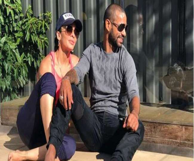 Shikhar Dhawan did such an act while romancing, Ayesha got in a bad mood