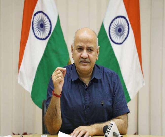 दिल्ली के उपमुख्यमंत्री मनीष सिसोदिया की डिजिटल प्रेस वार्ता।