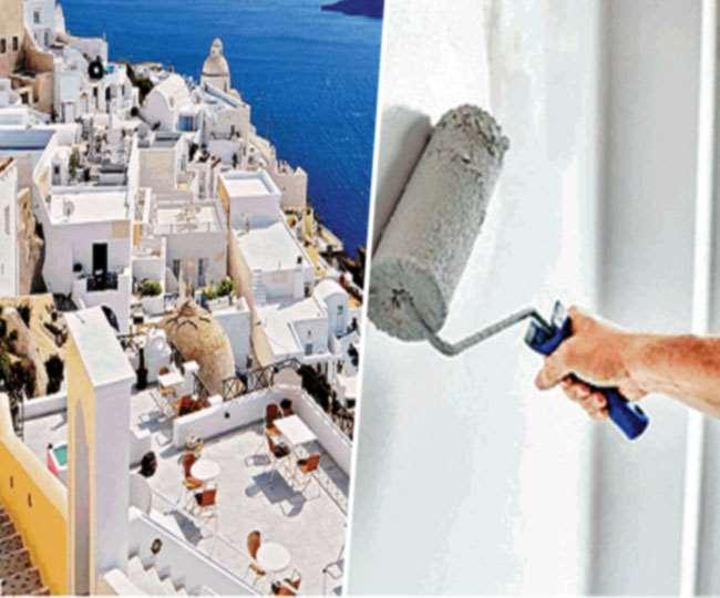 बेरियम सल्फेट से बना खास पेंट किसी मकान के तापमान को बाहर के मुकाबले कम करने में सक्षम है।