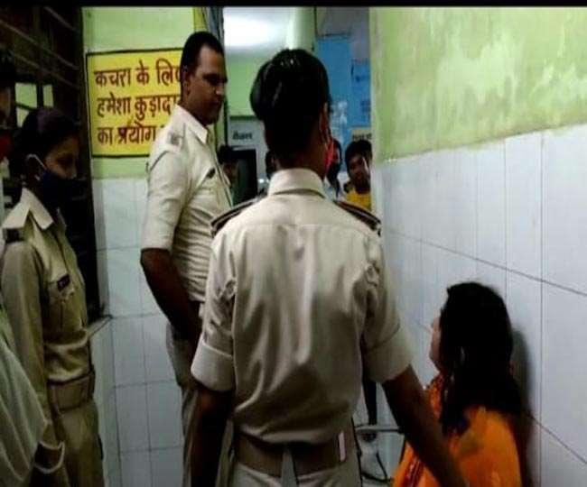 नशे में धुत युवती को नालंदा पुलिस ने किया गिरफ्तार। जागरण