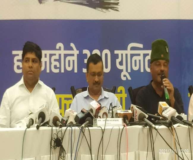 उत्तराखंड: केजरीवाल ने CM बदलने पर भाजपा को लिया आड़े हाथ।