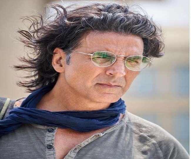 अक्षय कुमार को मुंबई में एयरपोर्ट पर स्पॉट किया गया हैl