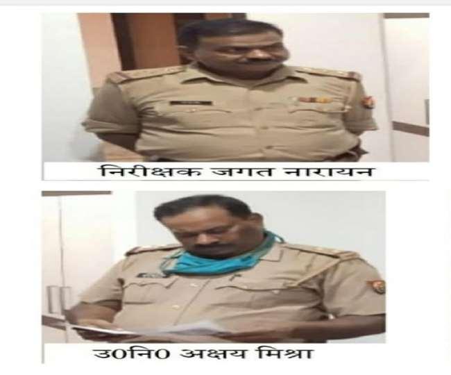 मनीष हत्याकांड के आरोपित इंस्पेक्टर व दारोगा गिरफ्तार।