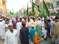 भाईचारे के बीच मनाईं ईद मिलादुन्नबी की खुशियां